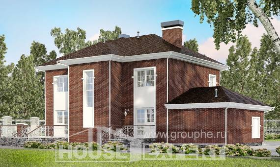 180-006-L Two Story House Plans with garage in front, best house Home Blueprints