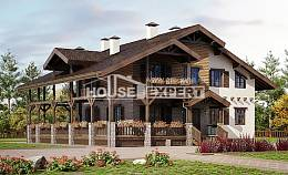 400-004-R Three Story House Plans with mansard with garage in front, cozy House Online