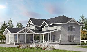 340-004-R Two Story House Plans, spacious Architects House