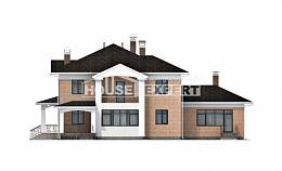 520-001-R Three Story House Plans, big Woodhouses Plans