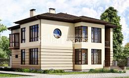 300-006-R Two Story House Plans with garage under, best house House Blueprints