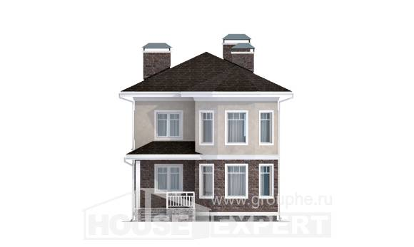 120-001-L Two Story House Plans, beautiful House Plans