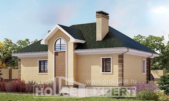 150-013-L Two Story House Plans and mansard, economical Architects House