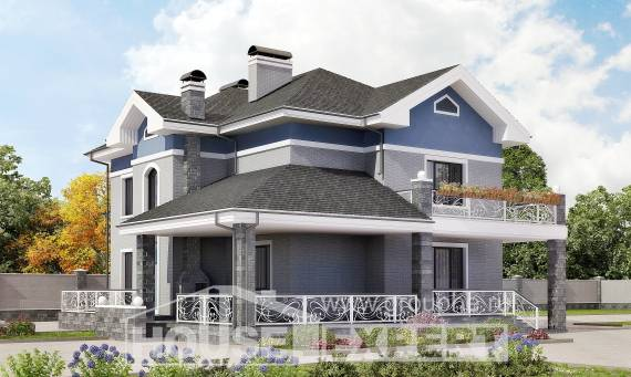 200-006-L Two Story House Plans, beautiful Architect Plans