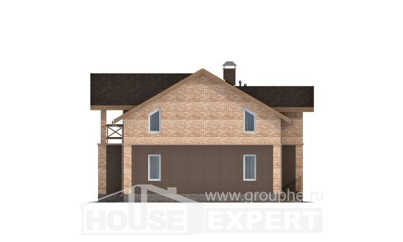 160-014-R Two Story House Plans, modern Home Blueprints