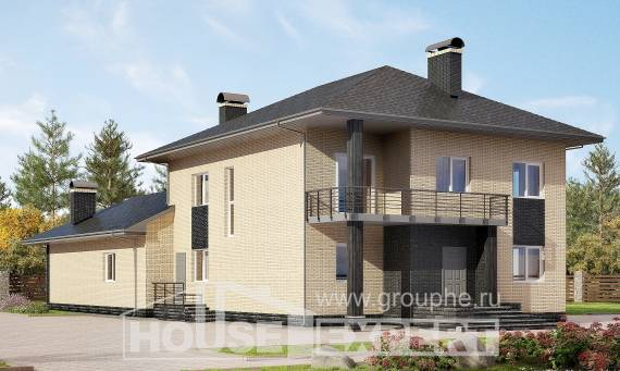 305-003-L Two Story House Plans, beautiful Architects House