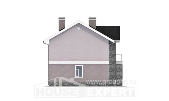 170-008-R Two Story House Plans, beautiful Plan Online