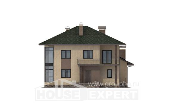 305-003-R Two Story House Plans, cozy Plan Online