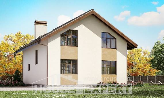 170-002-R Two Story House Plans and mansard, classic Plans Free