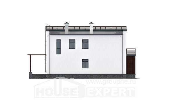 215-002-R Two Story House Plans, beautiful Home Blueprints