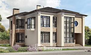 300-005-L Two Story House Plans, classic Architectural Plans