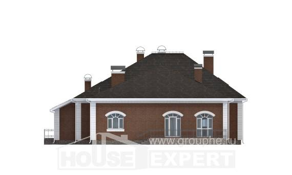 400-003-R Two Story House Plans with mansard, classic House Plan