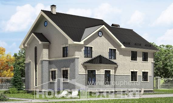 300-004-R Two Story House Plans, luxury House Planes