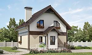 105-001-R Two Story House Plans and mansard, the budget Plans To Build