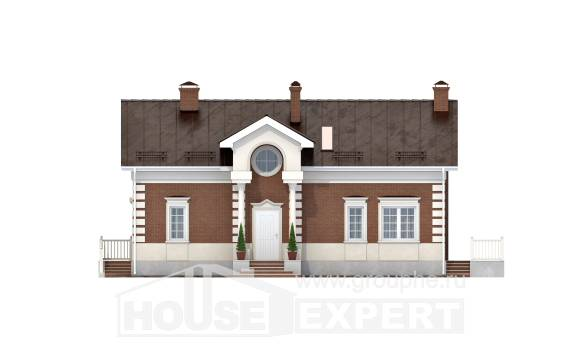 160-009-R Two Story House Plans, a simple Timber Frame Houses Plans