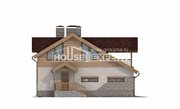 165-002-R Two Story House Plans with garage, modern Dream Plan
