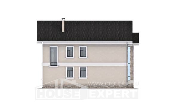 170-008-L Two Story House Plans, cozy Online Floor