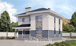 150-014-L Two Story House Plans, economical House Plans