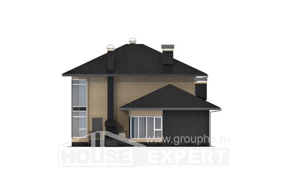 305-003-L Two Story House Plans, cozy Architectural Plans