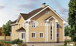 320-003-L Two Story House Plans, a huge Home House