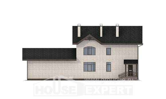 340-004-L Two Story House Plans, cozy Plans Free