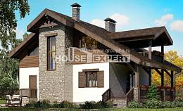 150-004-L Two Story House Plans with mansard, small Plans To Build