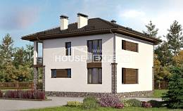 170-005-R Two Story House Plans, best house Home House