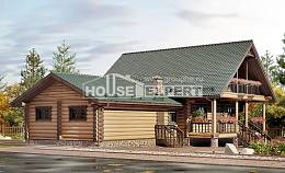 270-002-R Two Story House Plans and mansard with garage, best house House Blueprints