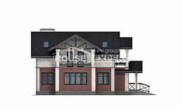 160-014-L Two Story House Plans, economical House Online