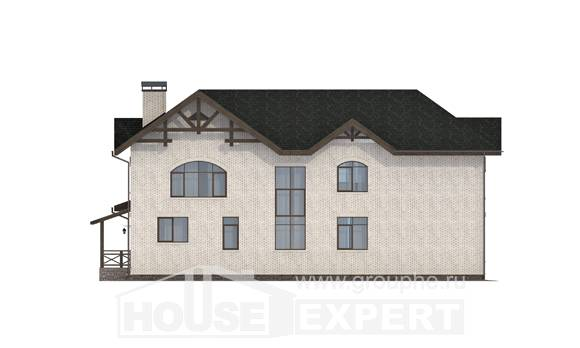 340-004-L Two Story House Plans, spacious House Plan