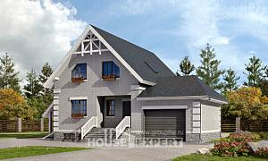 200-009-R Three Story House Plans and mansard and garage, luxury House Plans