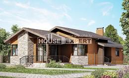 130-007-R One Story House Plans, best house Architectural Plans
