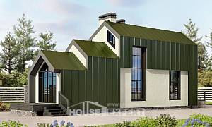 060-006-L Two Story House Plans and mansard, tiddly Villa Plan