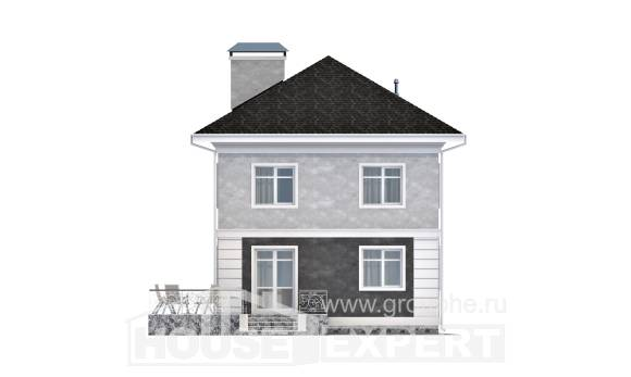 090-003-R Two Story House Plans, the budget Planning And Design
