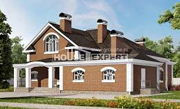 400-003-R Two Story House Plans and mansard, beautiful Architect Plans