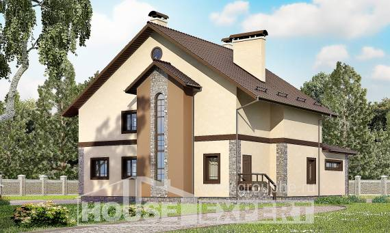 265-003-L Two Story House Plans, classic House Building