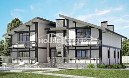 280-002-R Two Story House Plans and mansard, big House Plans