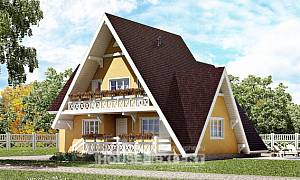 155-008-R Two Story House Plans with mansard roof, available Online Floor