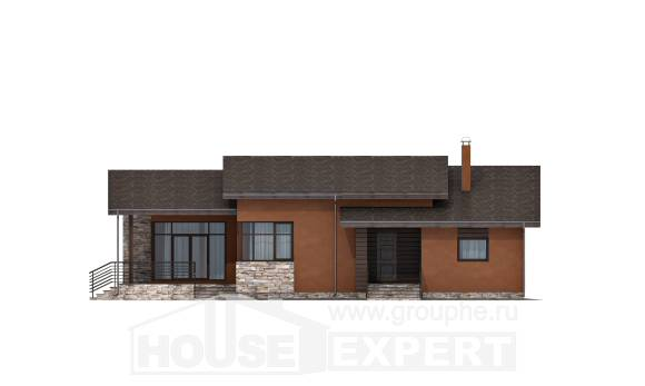 130-007-R One Story House Plans, economical House Plan