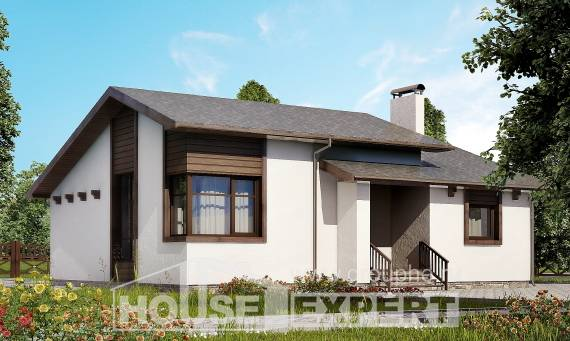 110-003-R One Story House Plans, small Plans To Build