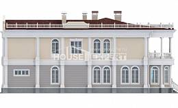 505-001-R Two Story House Plans with garage, spacious Construction Plans