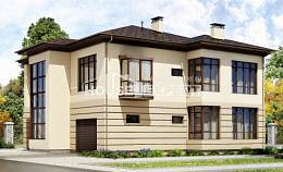 300-006-R Two Story House Plans with garage in front, beautiful Planning And Design