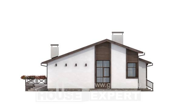 110-003-R One Story House Plans, the budget Building Plan