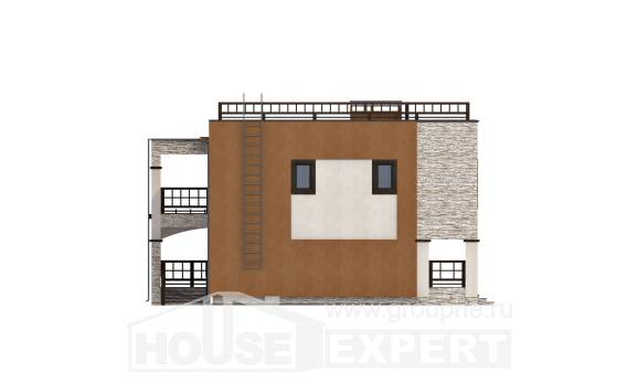 150-010-L Two Story House Plans, the budget Floor Plan