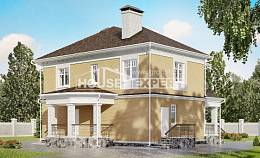 160-001-L Two Story House Plans, best house House Building